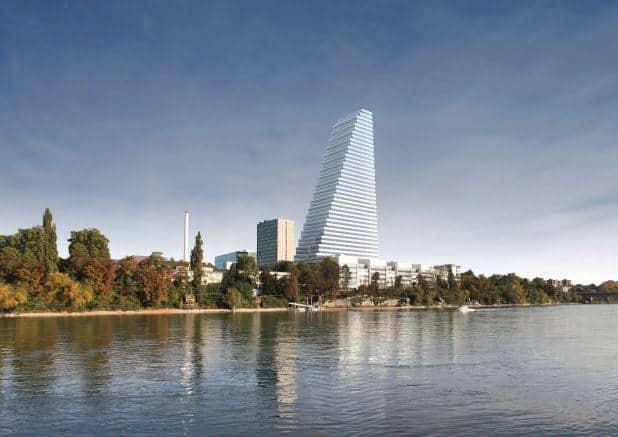 Roche Tower Basel Switzerland
