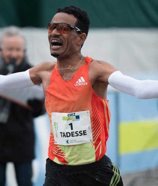 Tadesse Abraham winner of 11th Zurich Marathon