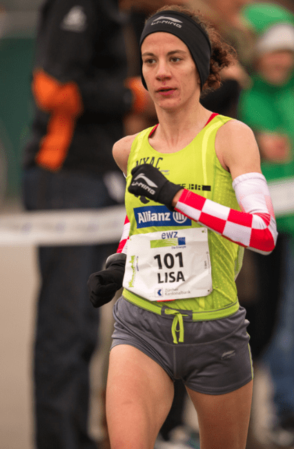 Lisa Stublic Winner of Zurich Marathon 2013