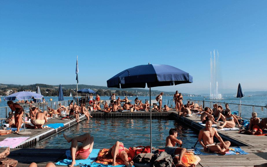 Badi in Zurich ©NewInZurich.com