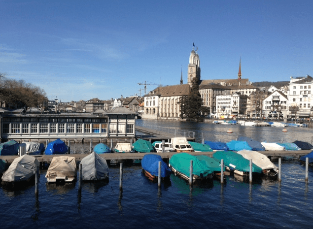 Spring time in Zurich ©NewInZurich