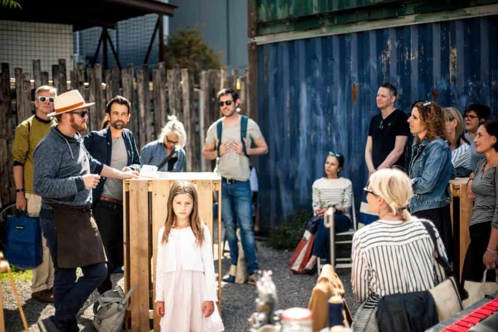 Kreislauf 3 4 5 Shopping event Zurich