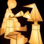 Light Sculptures in Europaallee Zurich