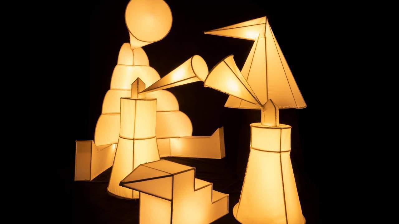 Light sculptures in europaallee reise in die fabelwelt