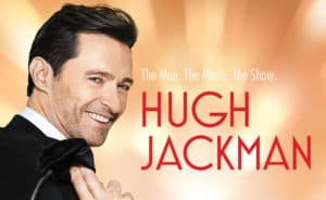 Hugh Jackman in Zurich at Hallenstadion