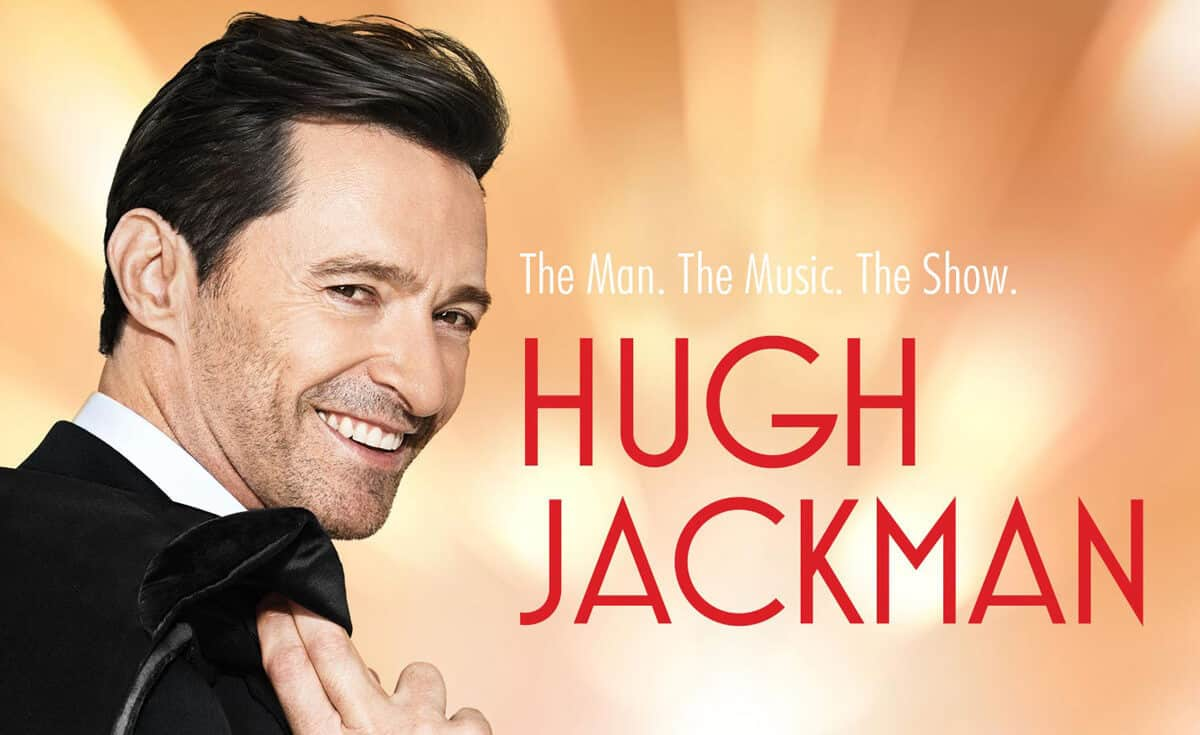 Hugh Jackman in Zurich at Hallenstadion