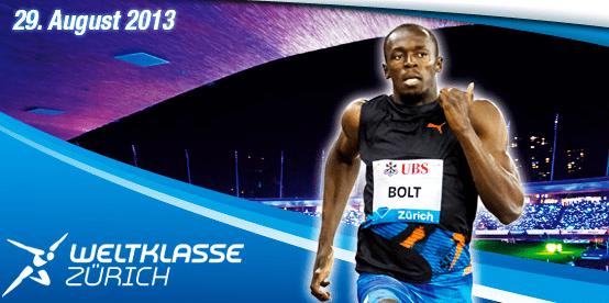 Usain Bolt Weltklasse Zurich