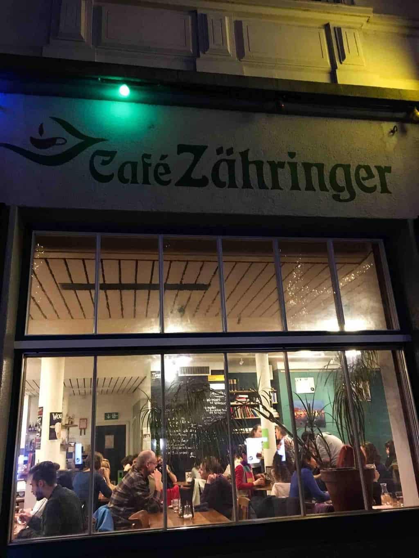 Cafe Zahringer Zurich