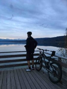 Bike ride round Greifensee