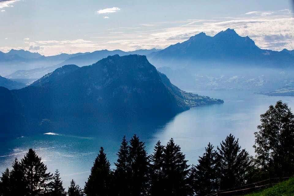 Day Trip On Gotthard Panorama Express to mount rigi Switzerland