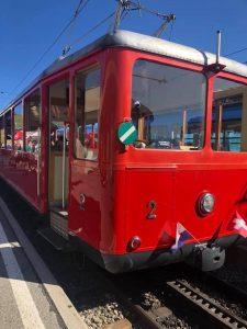 The Rigibahn to Mount Rigi Lucerne