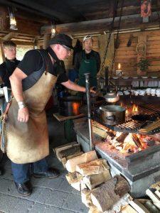 Stefen Wiesner Cooks Emmental AOP IN the forest