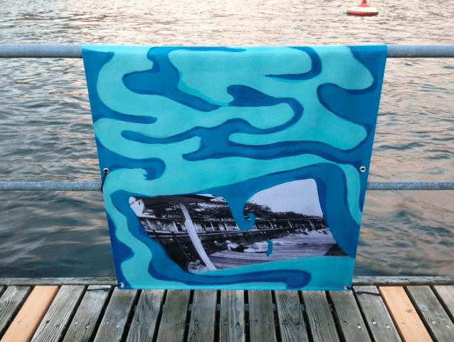 Frauenbadi Zurich Alex Zwalen art