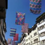 Gastraume flags in Rennweg