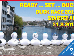 Duck Race Zurich – Saturday 31st August
