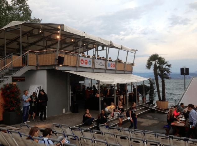 ge Openair cinema in Zurich