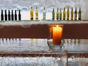 Bar in igloo village in Leysin