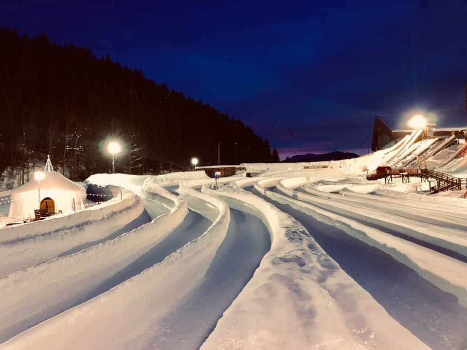 Tobogganing Park - Top Things To Do In Leysin Switzerland