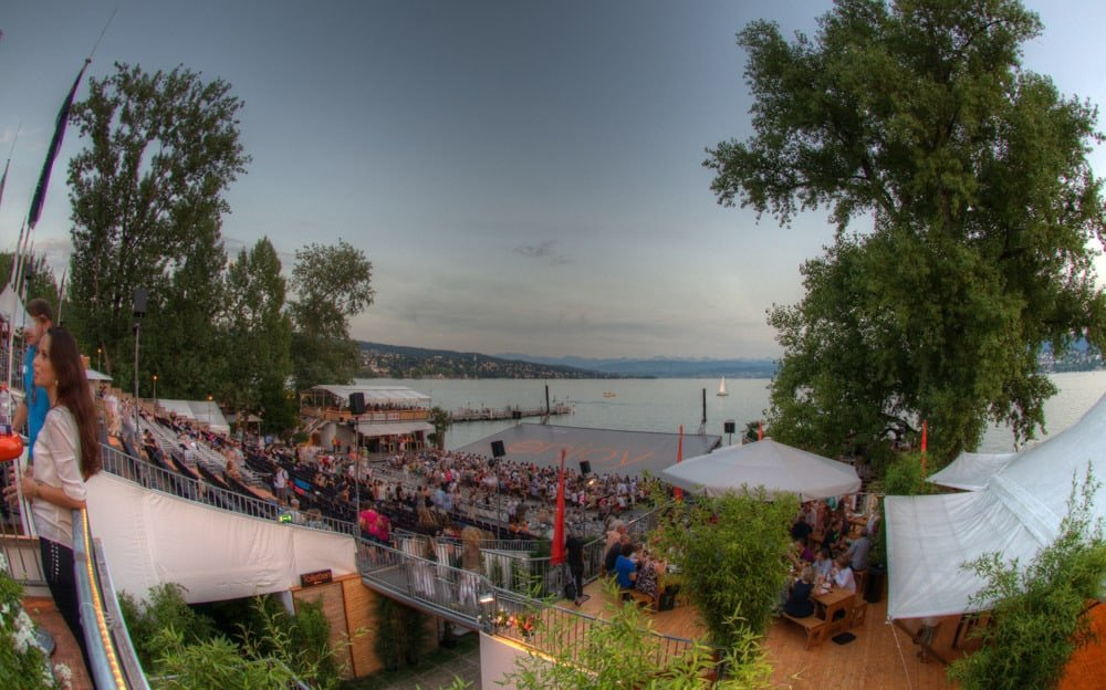 OPEN AIR CINEMA ZURICH ©Geoff Pegler