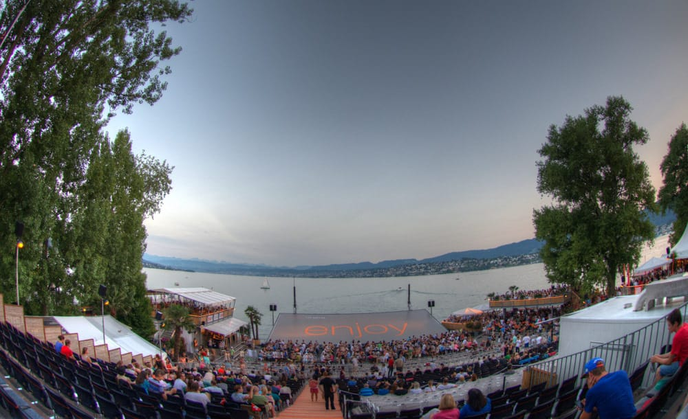 OrangeCinema OPEN AIR CINEMA ZURICH Zurich ©Geoff