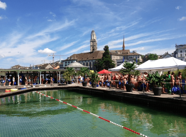 Limmatschwimmen 2013 Zurich ©NewInZurich