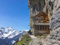 Top Places to Visit in Switzerland – Äscher Restaurant Ebenalp