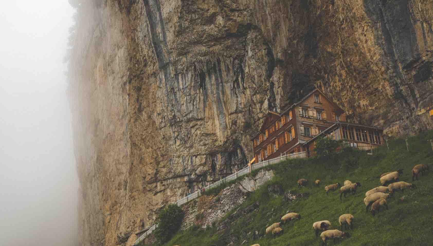 Aescher Restaurant Ebenalp Switzerland