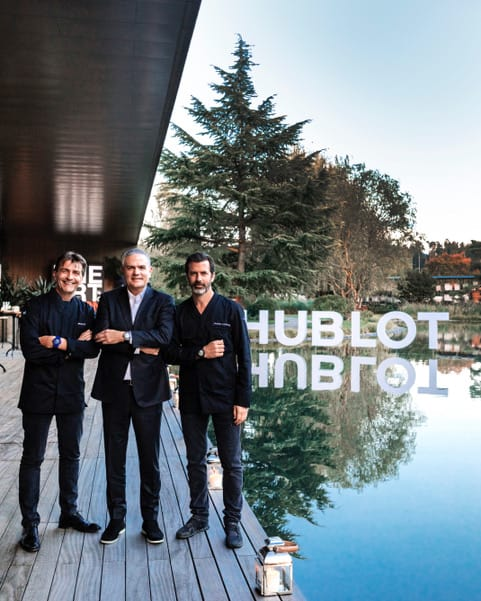 Hublot: The Art Of Fusion with Andreas Caminada & Yannick Alléno, Ricardo Guadalupe,