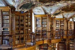 A Day Trip to St Gallen Switzerland. St Gallen Baroque Library