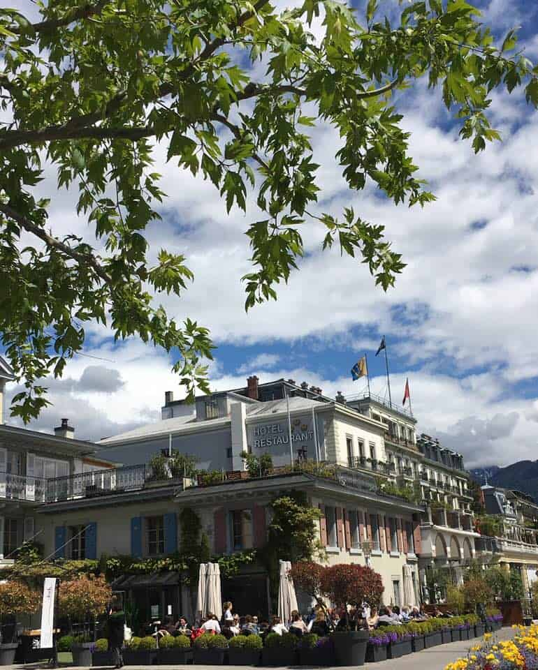 Ze fork restaurant Vevey Switzerland