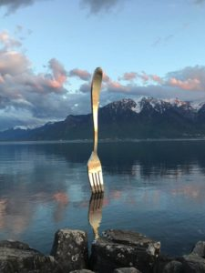 The Fork in the Water in Vevey