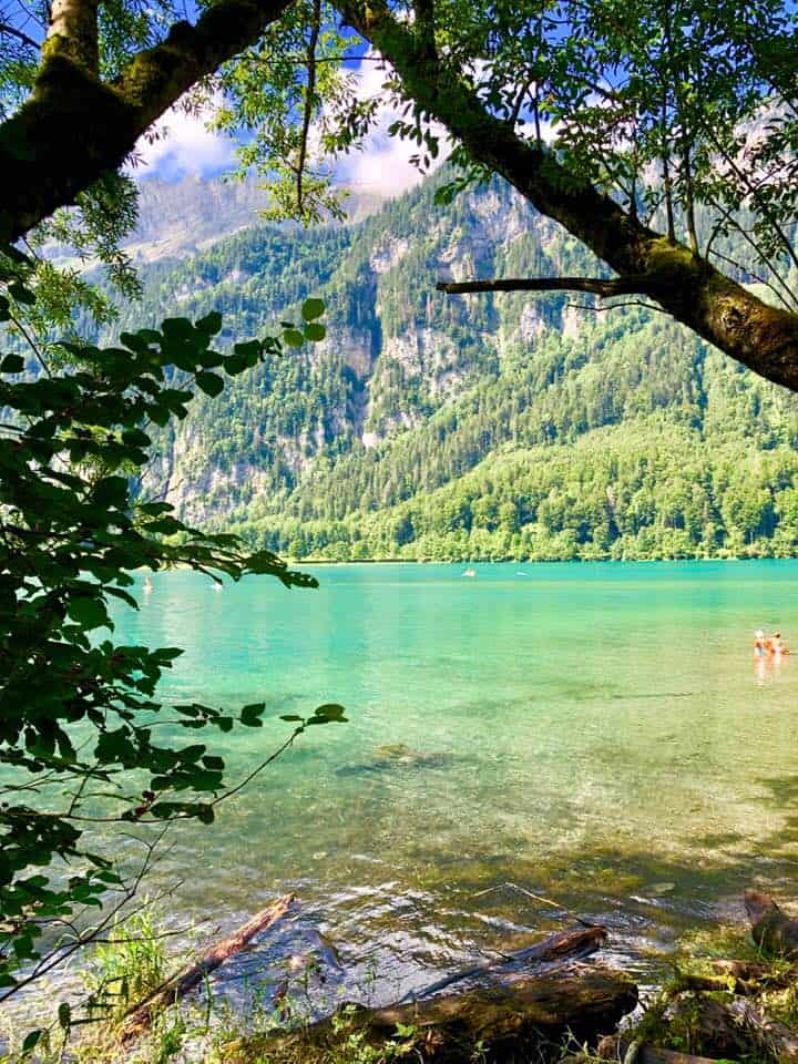 Hiking Around Klöntalersee Switzerland