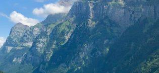 Hiking Around Klöntalersee Switzerland