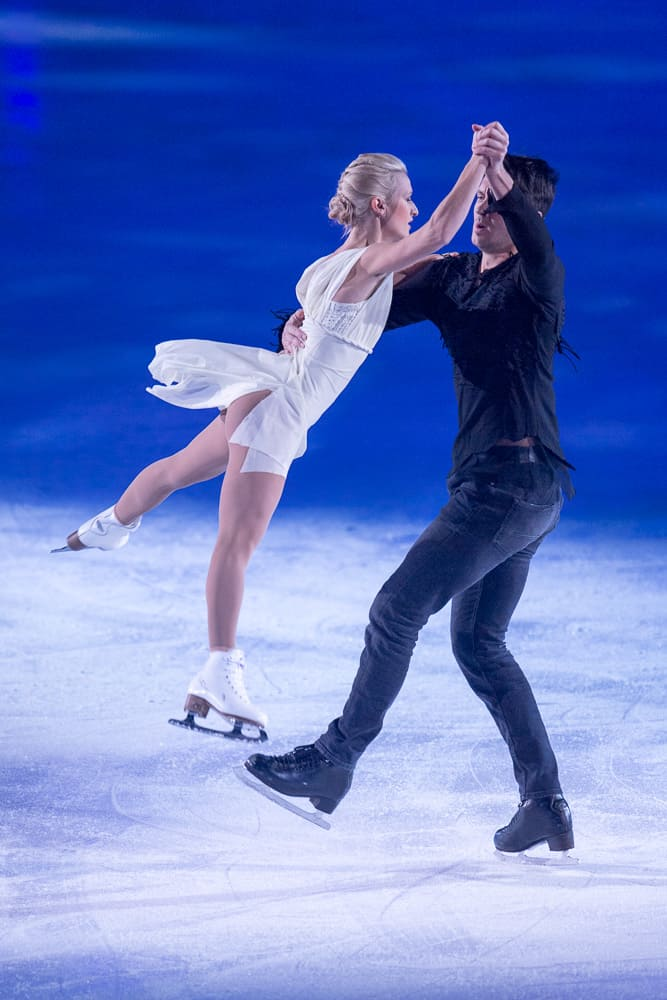 Maxim Trankov & Tatiana Volsovar Art On Ice Zurich 2019