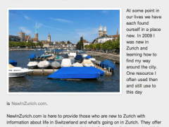 NewInZurich in the Press – Set Sails Media