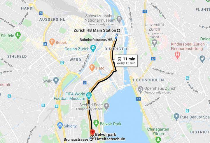 Belvoir Park on Google Maps