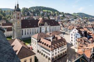 A Day Trip to St Gallen Switzerland