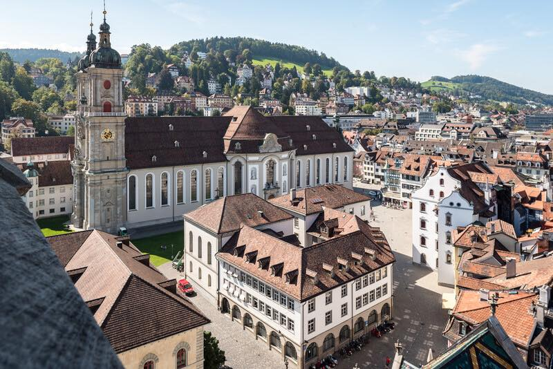 A  Day Trip to St Gallen Switzerland