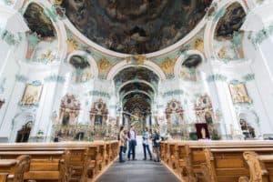 baroque interior st gallen