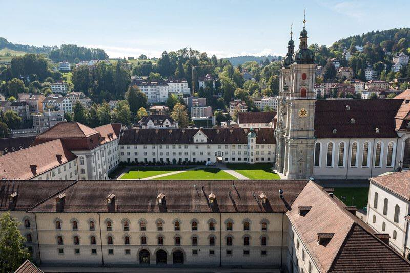 A  Day Trip to St Gallen Abbey and cathedral Switzerland