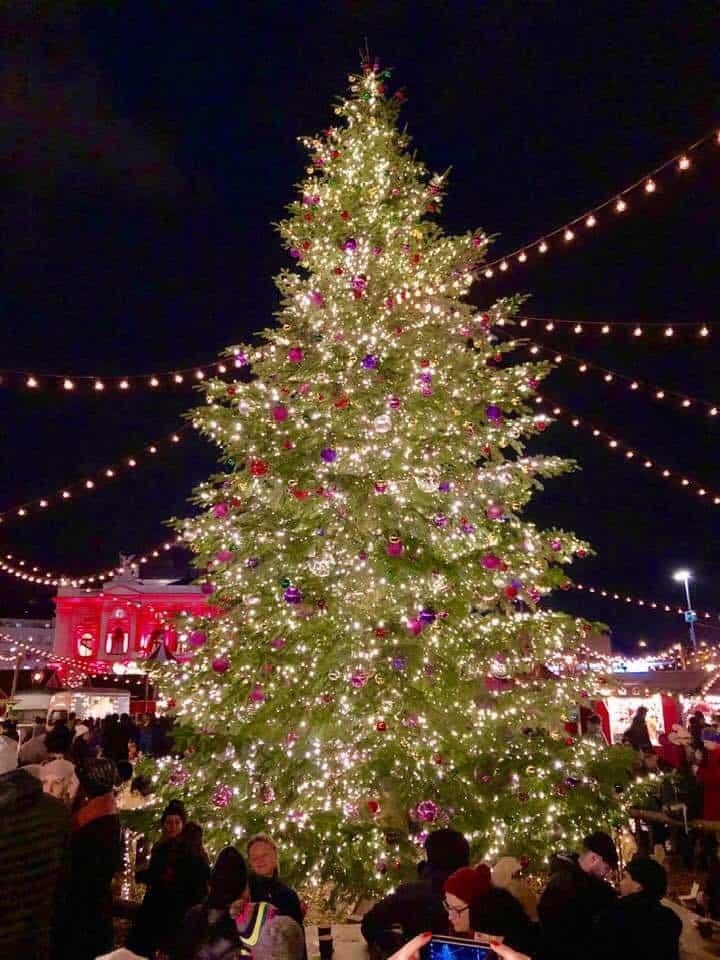 Wienachtsdorf Christmas Market Zurich