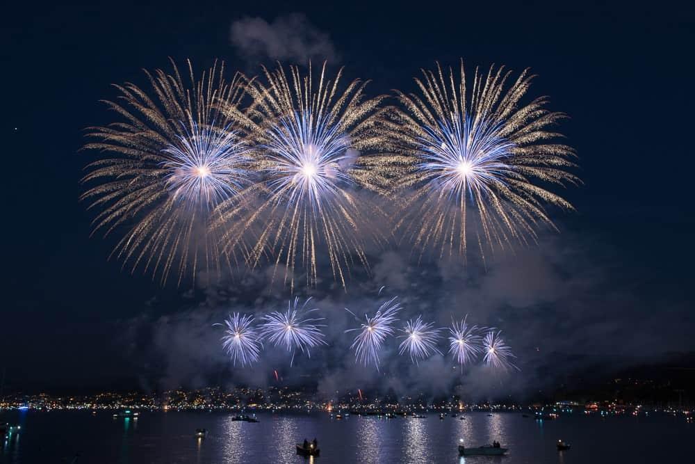 Photos of Züri Fäscht Fireworks 2019 Zurich Switzerland