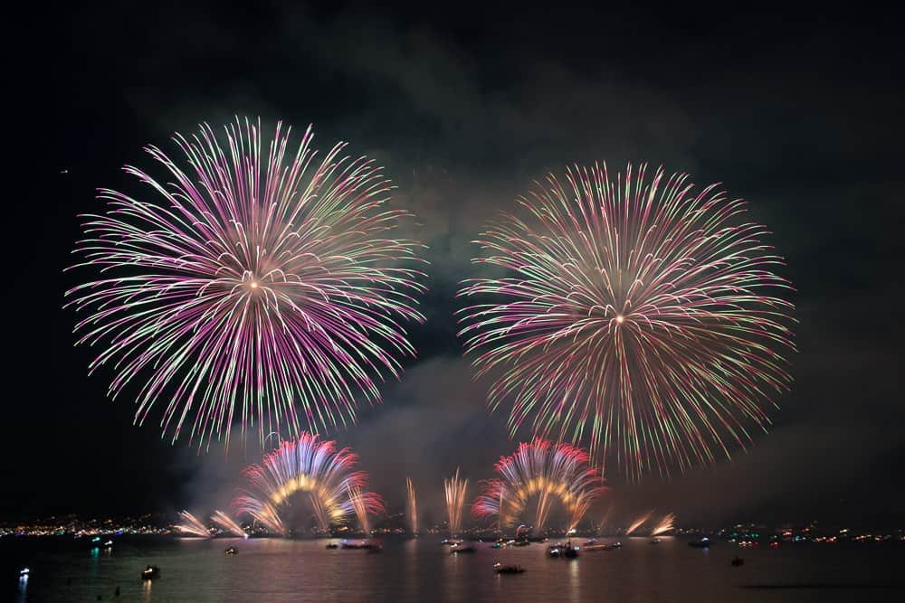 Photos of Züri Fäscht Fireworks 2019 Zurich Switzerland