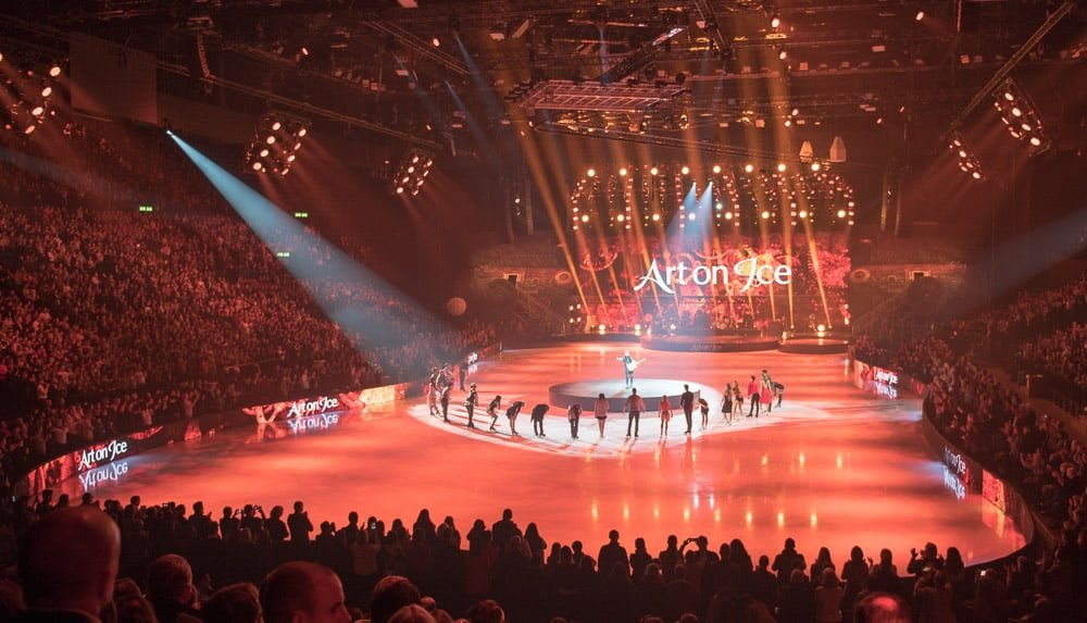 More Photo Highlights of Art On Ice Zurich 2019 with James Blunt