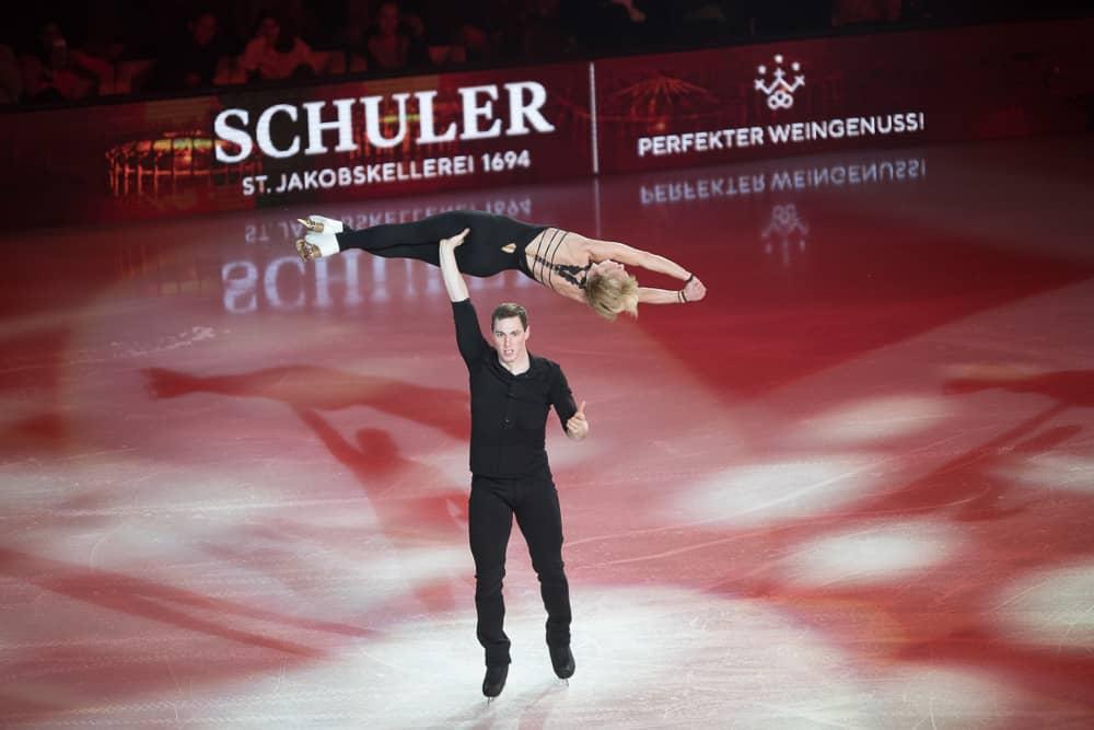 Aljona Savchenko & Bruno Massot Art On Ice Zurich 2019