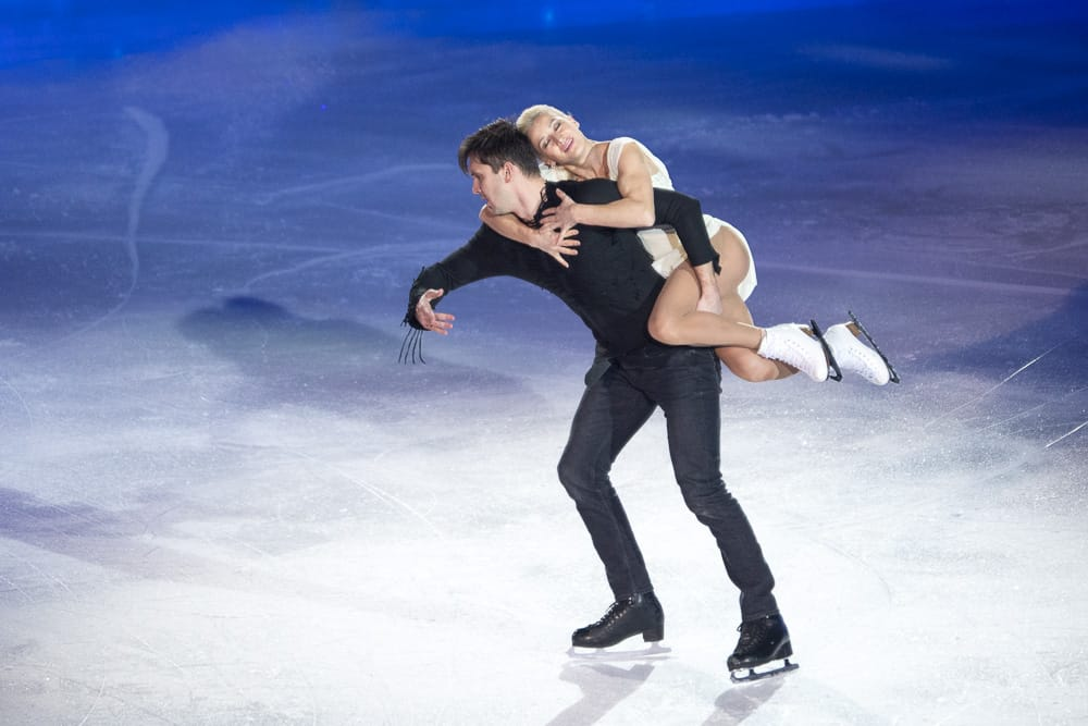 max trankov and tatiana volosozhar Art On Ice Zurich 2019
