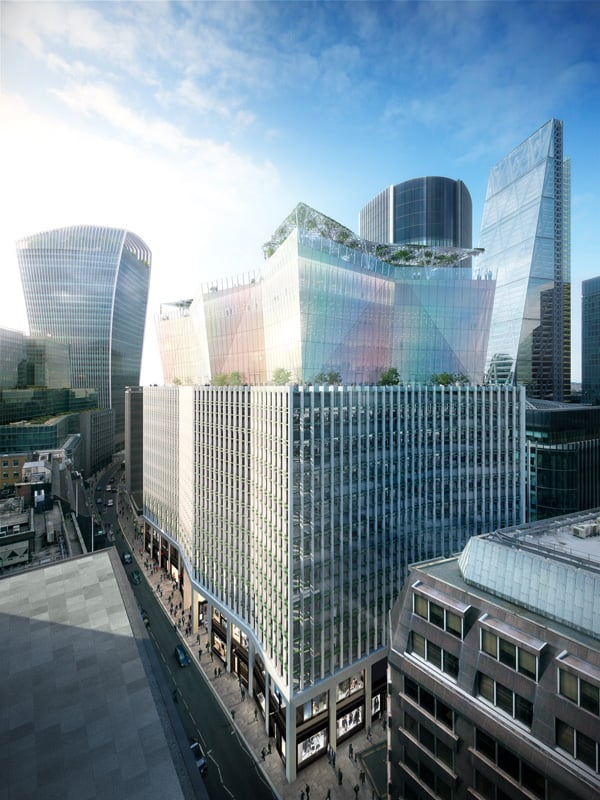 The New Sky Garden in London - The Garden at 120 Fenchurch Street