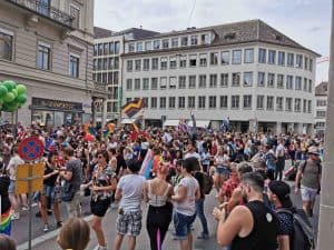 Photos of Zurich Pride 2019