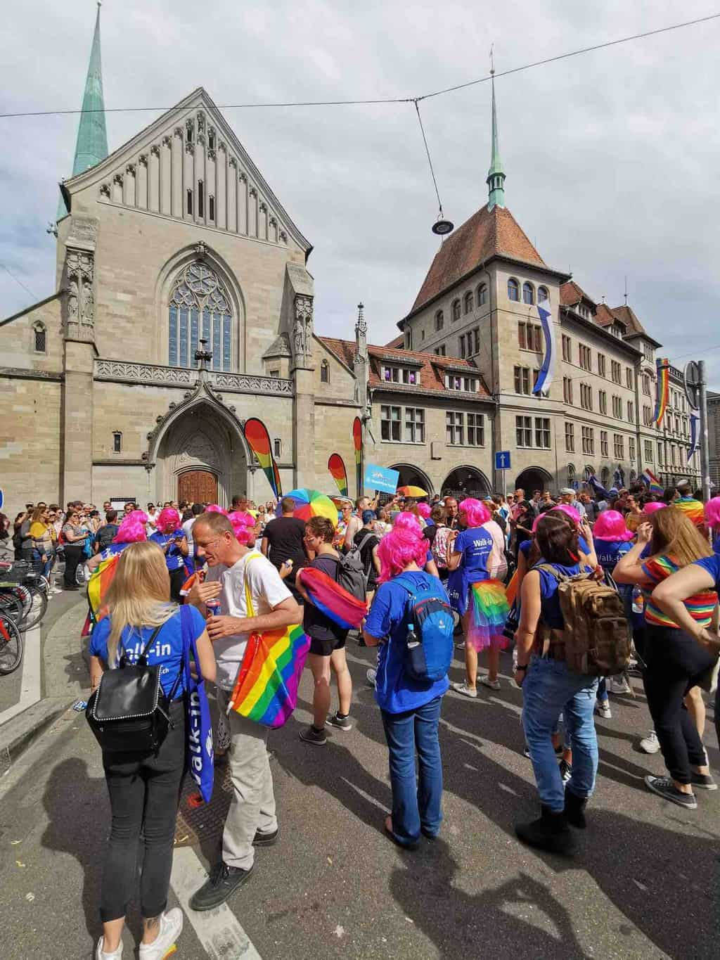 Photos of Zurich Pride 2019
