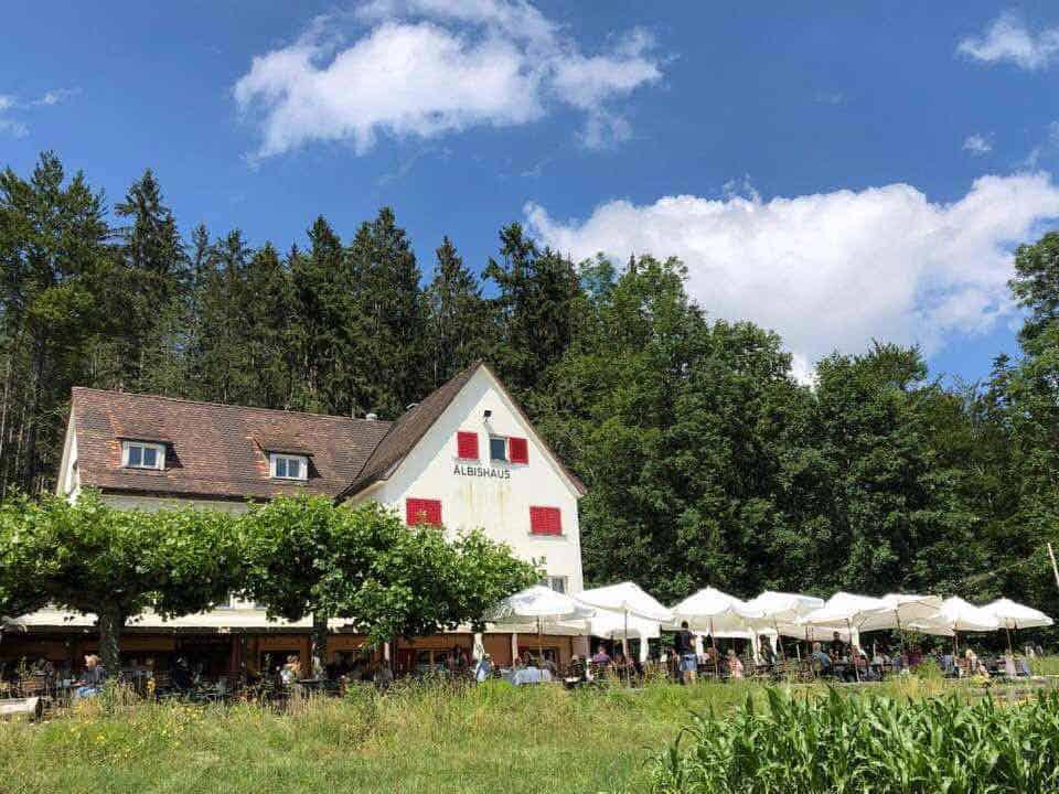 Albishaus Restaurant Albis near Türlersee